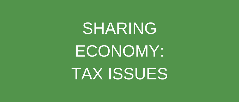 Taxing the Share Economy: A Whole New World?