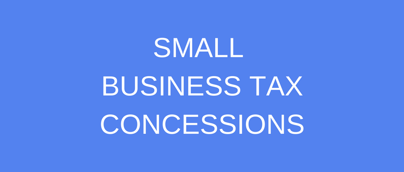 Small Business Tax Concession Refused: Threshold Test Failed