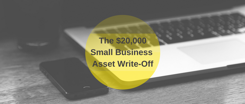 Last chance for $20,000 deduction for Small Business