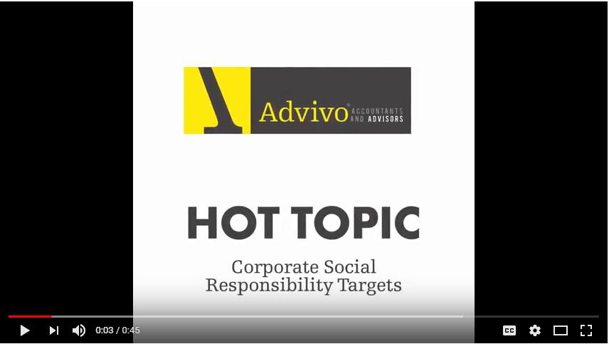 Advivo Corporate Social Responsibility