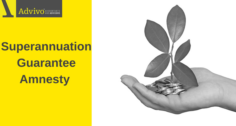 Superannuation Guarantee Amnesty