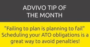 Advivo tip of the month
