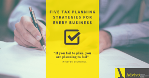5 Tax Planning Strategies