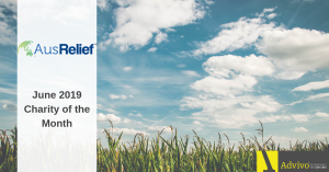 AusRelief - Charity of the Month June 2019