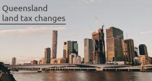 Queensland Tax Changes