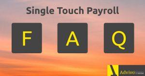 Single Touch Payroll FAQs