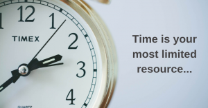 Time Is Your Most Limited Resource