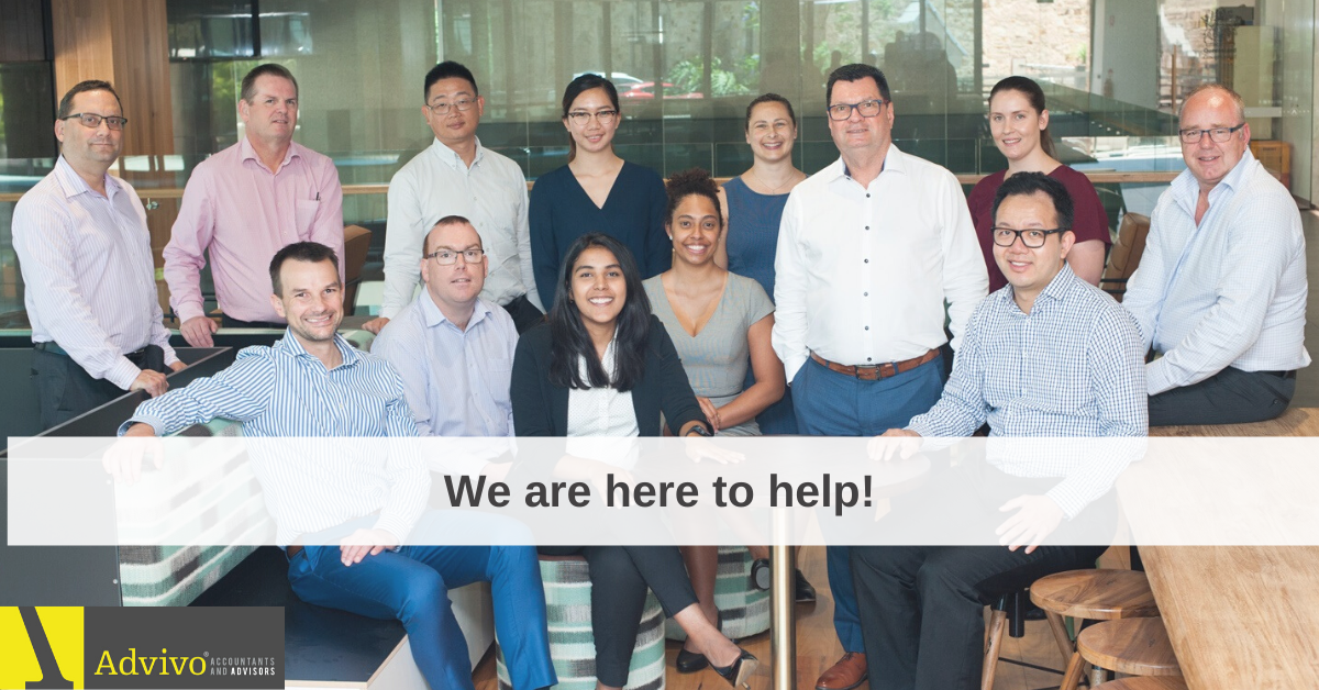 We are Here to Help - Advivo Accountants and Business Advisors in Brisbane