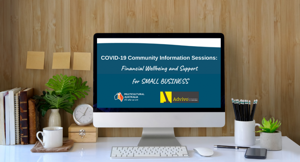 COVID-19 Community Information Sessions: Financial Well-being and Support for Small Business