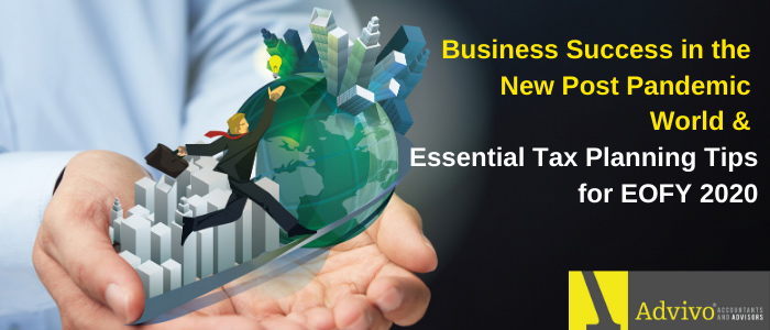 You're Invited! – Business Success in the New Post Pandemic World – Essential Tax Planning Tips