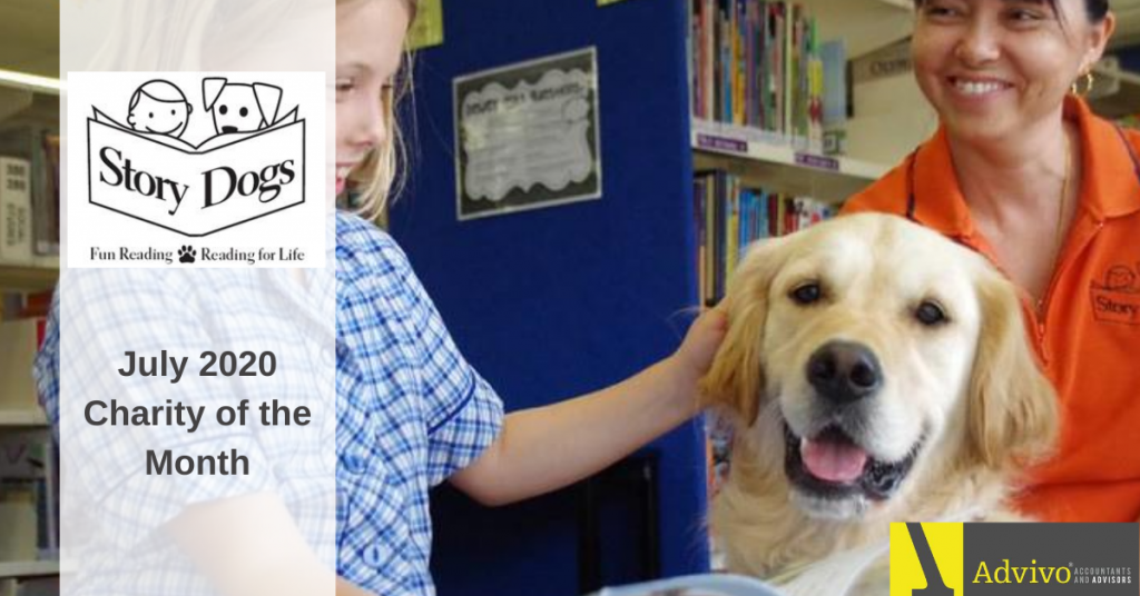 Story Dogs - July 2020 Charity - Advivo