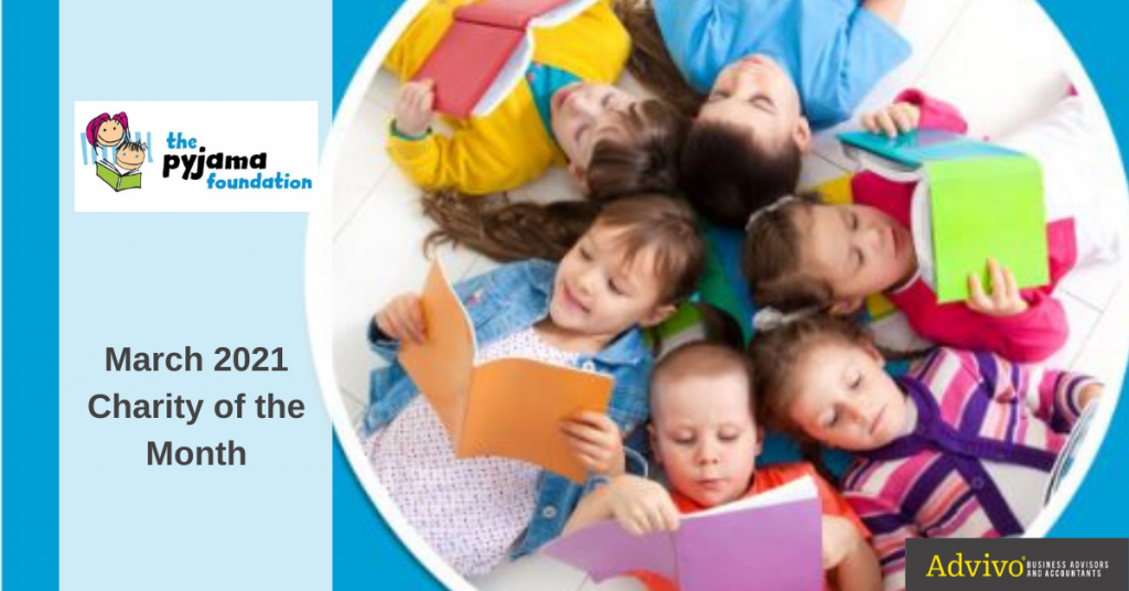 Circle of Kids Reading a Book - March 2021 Charity of the Month