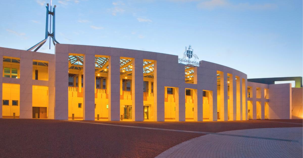 Australian National Parliament House - 2021-2022 Federal Budget Updates - Advivo Business Advisors & Accountants