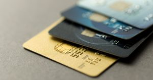 Credit cards piling up on a close up shot - Credit agreements blog image