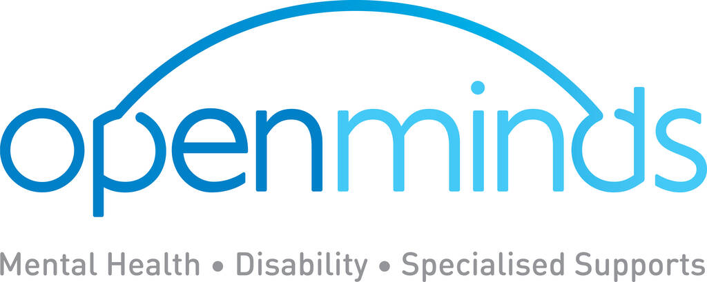 Open Minds Logo - August charity of the month